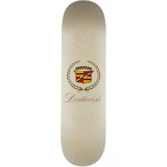 Deathwish Death Caddy Skateboard Deck - White - 8.75