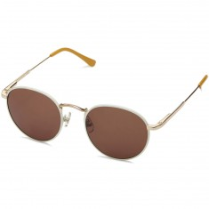 Crap The Tuff Patrol Sunglasses - Cream Rims/Gloss Camel Tips