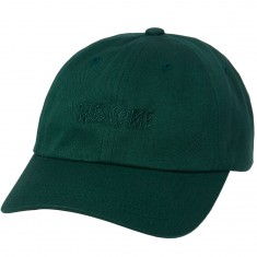 Welcome Tonal Scrawl Unstructured 6-Panel Hat - Spruce