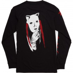 Welcome Audrey Long Sleeve T-Shirt - Black