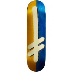 Deathwish Original G Skateboard Deck - Yellow/Blue - 8.25