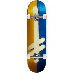 Deathwish Original G Skateboard Complete - Yellow/Blue - 8.25