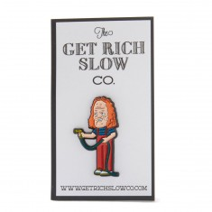 Get Rich Slow Rocky Dennis the Menace Pin