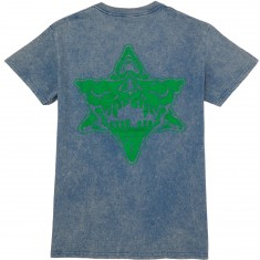 Pyramid Country Castle Greenskull T-Shirt - Blue
