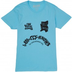 CCS Toll Free T-Shirt - Blue