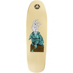 Welcome Magic Bunny on Magic Mace Skateboard Deck - Yellow - 9.0