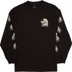 Sketchy Tank Pie Long Sleeve T-Shirt - Black