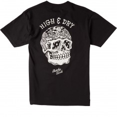 Sketchy Tank High And Dry T-Shirt - Black