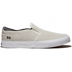 State Keys Shoes - Cream/Pewter Suede