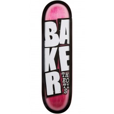 Baker Stacked Name Skateboard Deck - Theotis - 8.475