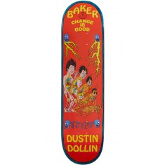 Baker Change Is Good Skateboard Deck - Dustin Dollin - 8.0