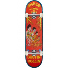 Baker Change Is Good Skateboard Complete - Dustin Dollin - 8.0