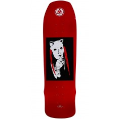 Welcome Audrey on Time Traveler Skateboard Deck - Red Dip - 8.8