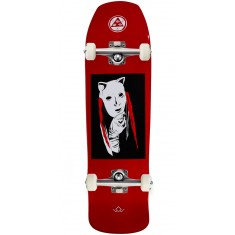 Welcome Audrey on Time Traveler Skateboard Complete - Red Dip - 8.8