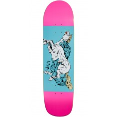 Welcome Goodbye Horses on Son of Planchette Skateboard Deck - Pink/Blue - 8.38