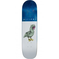 Welcome Gooser on Bunyip Skateboard Deck - White - 8.0