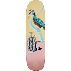 Welcome Inferno on Stonecipher Skateboard Deck - Ryan Lay - Cream - 8.6