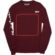 CCS My Infinity Long Sleeve T-Shirt - Maroon