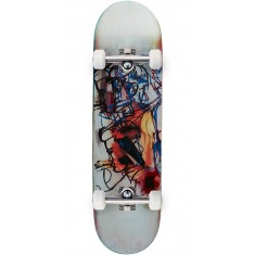 Blue Greco Screened Guest Skateboard Complete - 8.44""