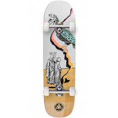 Welcome Inferno on Stonecipher Skateboard Complete - Ryan Lay - White/Natural - 8.6