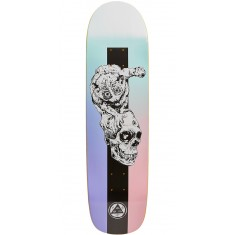 Welcome Loris Loughlin on Son Of Planchette Skateboard Deck - Teal/Black - 8.38