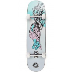 Welcome Transcend on Amulet Skateboard Complete - White - 8.125