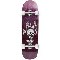 Baker From The Grave Shaped Skateboard Complete - 8.75