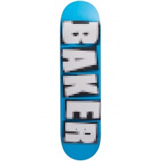 Baker Brand Name Pixelated Skateboard Deck - Andrew Reynolds - 7.75
