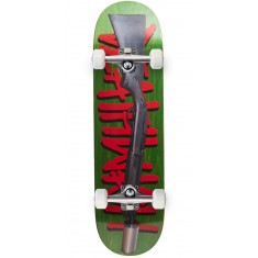 Deathwish Street Sweeper Skateboard Complete - 8.5 - Green Stain