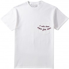 CCS Eyes For You Pocket T-Shirt - White