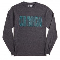 CCS Club Tropicana Long Sleeve T-Shirt - Dark Heather Grey