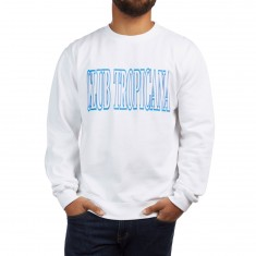 CCS Club Tropicana Crewneck Sweatshirt - White