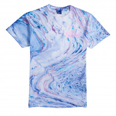 Pyramid Country Cotton Candy Marble T-Shirt - Blue/Cotton Candy
