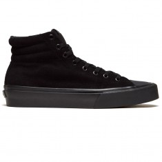 Straye Venice Shoes - Black/Black Suede