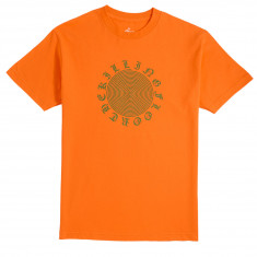 The Killing Floor Spiral T-Shirt - Orange/Green