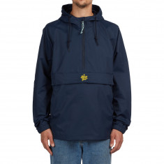 The Killing Floor 92 Pullover Parka Jacket - Navy/Yellow