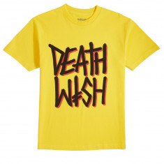 Deathwish Deathstack T-Shirt - Yellow/Black