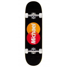 Pizza Michael Lulizzi Card Skateboard Complete - 8.375""