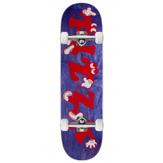 Pizza Watch Your Step Remix Skateboard Complete - 8.25""