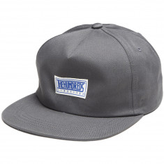 The Hundreds Rell Button Snapback Hat - Charcoal 9f2687771da3