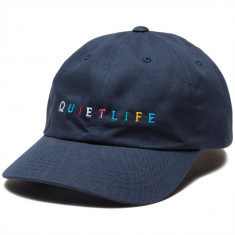 b6f5b26ad26a3 The Quiet Life Rainbow Dad Hat - Navy