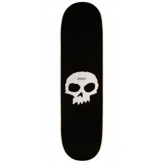 Zero Single Skull Skateboard Deck - Black - 8.50""