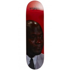 Pizza Crying Michael Pulizzi Skateboard Deck - 8.18""