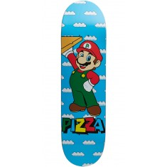Pizza Mario Skateboard Deck - 8.375""