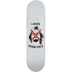 Skate Mental Plunkett I Hate Your Face Skateboard Deck - 8.00""