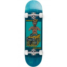 "Sk8 Mafia Legends 2 Gray Skateboard Complete - 8.25"" - Teal"
