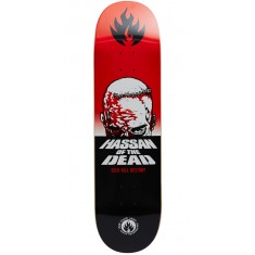 Black Label Omar Hassan Dead Skateboard Deck - 8.38""