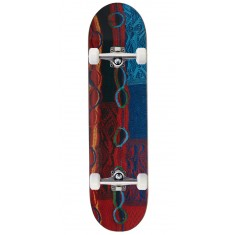 """Trap X Coogi Bright Patchwork Skateboard Complete - 8.00"""""""