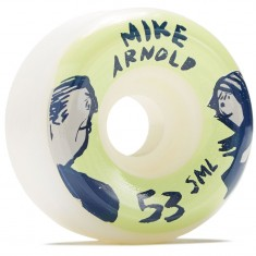 SML Lookers V Cut Skateboard Wheels - Mike Arnold - 53mm