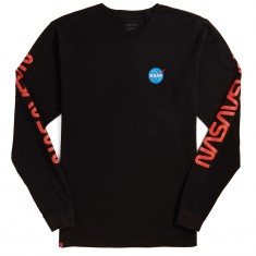 02640956f Habitat x NASA Worm Repeat Long Sleeve T-Shirt - Black